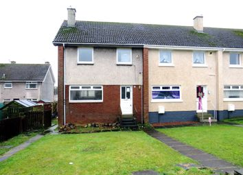 Thumbnail 2 bed terraced house for sale in Lane Crescent, Drongan, Ayr