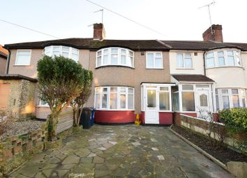 Thumbnail 3 bedroom terraced house to rent in Fraser Road, Perivale, Greenford, Middlesex
