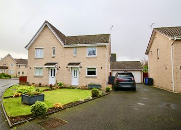 Thumbnail 3 bedroom semi-detached house for sale in 6 Targe Wynd, Stirling
