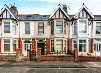 Thumbnail 4 bed terraced house for sale in Palace Avenue, Llandaff, Cardiff
