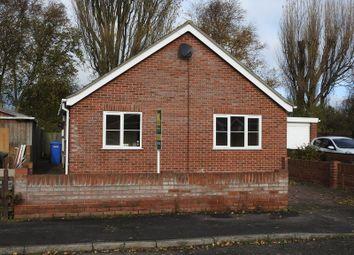 Thumbnail 2 bedroom detached bungalow for sale in Cavendish Close, Lowestoft