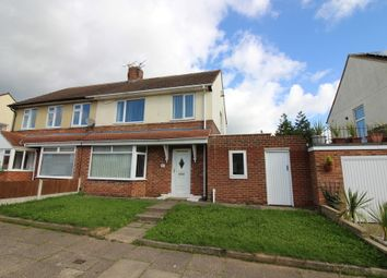 Thumbnail 3 bed semi-detached house to rent in Radstock Avenue, Stockton-On-Tees