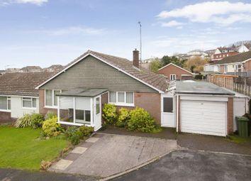 Thumbnail 3 bed semi-detached bungalow for sale in Bampfylde Close, Tiverton