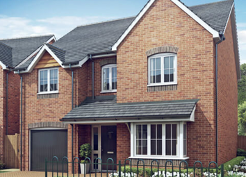 Thumbnail 4 bed detached house for sale in Kings Street, Yoxall, Staffordshire