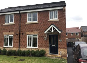Thumbnail 3 bed semi-detached house for sale in Dunwoody Court, Hearne Way, Shrewsbury