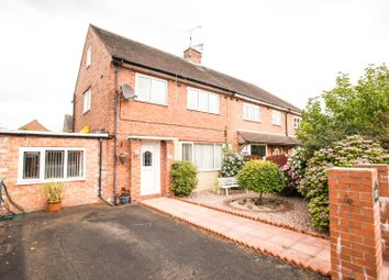 Thumbnail 3 bed semi-detached house for sale in Manchester Road, Carrington
