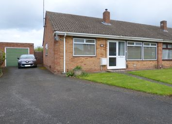 Thumbnail 2 bed semi-detached bungalow for sale in Parkwood Crescent, Hucclecote, Gloucester