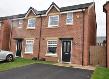 Thumbnail 3 bed semi-detached house for sale in Baines Close, Leigh, Greater Manchester