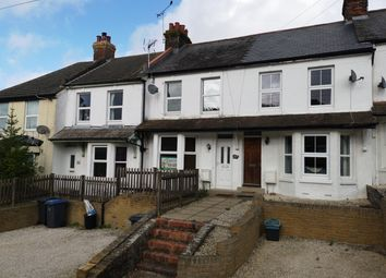 Thumbnail 2 bedroom terraced house to rent in Church Hill, Shepherdswell, Dover