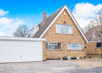 Thumbnail 3 bed detached house for sale in Belleville Drive, Oadby, Leicester