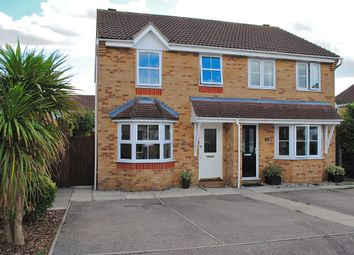 Thumbnail 3 bed semi-detached house for sale in Marguerite Way, Bishop's Stortford