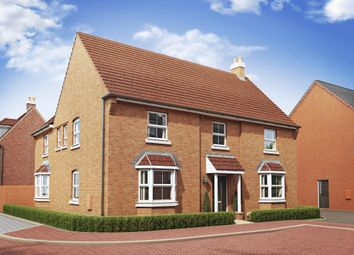 "Thumbnail 5 bed detached house for sale in ""Henley"" at Great Denham, Bedford"