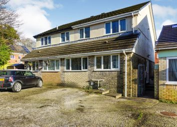 3 bed semi-detached house for sale in Highland Court, Bridgend, Bryncethin CF32