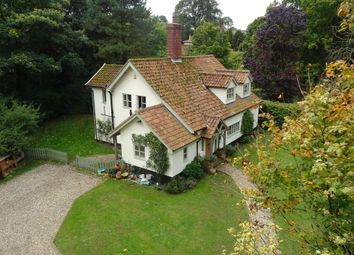 Thumbnail 4 bed cottage for sale in Debenham Road, Stonham Aspal, Stowmarket