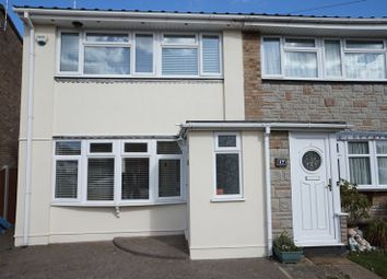 Thumbnail 3 bed semi-detached house for sale in Queen Elizabeth Drive, Corringham, Stanford-Le-Hope