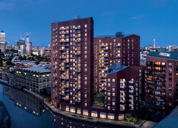 Thumbnail 1 bed flat for sale in Block A, Three Waters, The River Collection, London