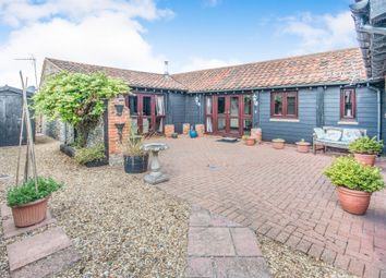 Thumbnail 2 bed barn conversion for sale in Church Road, Bacton, Norwich