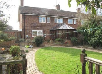 Thumbnail 4 bed end terrace house to rent in Hare Lane, Crawley