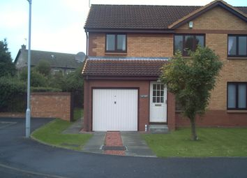 Thumbnail 3 bed detached house to rent in Dalcross Way, Dunfermline