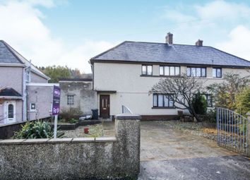 Thumbnail 3 bed semi-detached house for sale in Ynys Fawr Avenue, Resolven