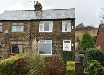 Thumbnail 2 bedroom end terrace house for sale in Cross Lane, Huddersfield, West Yorkshire