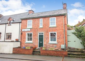 Thumbnail 2 bed end terrace house for sale in Raven Street, Welshpool, Powys
