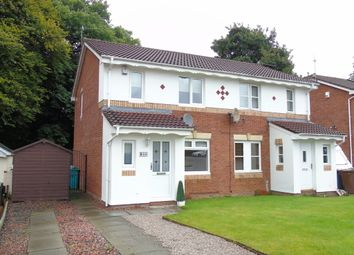 Thumbnail 3 bed semi-detached house for sale in Stonehaven Crescent, Cairnhill, Airdrie