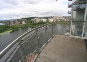 Thumbnail 2 bed flat to rent in Roma House, Victoria Wharf, Cardiff Bay
