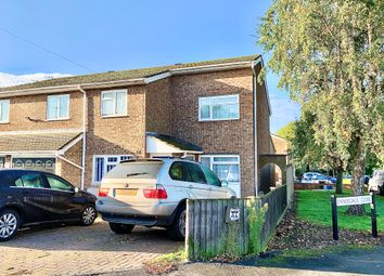 Thumbnail 4 bed semi-detached house to rent in Kentmere Close, Bedford