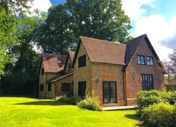 Thumbnail 4 bed detached house for sale in Hartley Wespall, Hook, Hampshire