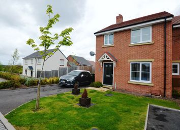 Thumbnail 3 bedroom semi-detached house for sale in Cover Drive, St. Georges, Telford