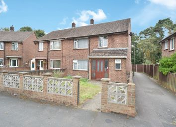 Thumbnail 3 bed semi-detached house for sale in Caesars Camp Road, Camberley, Surrey