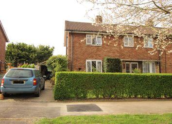 Thumbnail 2 bedroom end terrace house for sale in Knella Road, Welwyn Garden City