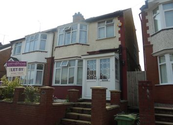 Thumbnail 4 bedroom semi-detached house to rent in Black Swan Lane, Luton