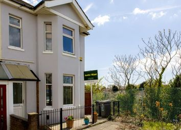 Thumbnail 3 bed semi-detached house for sale in Connaught Road, Southbourne, Bournemouth
