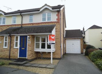 Thumbnail 2 bed semi-detached house to rent in Wakes Close, Bourne