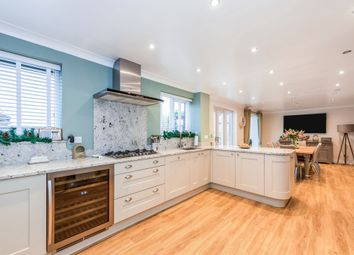 Thumbnail 4 bedroom detached house for sale in Bakewell Close, West Hunsbury, Northampton