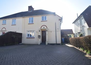Thumbnail 3 bed semi-detached house to rent in Bradfield Avenue, Hadleigh, Ipswich