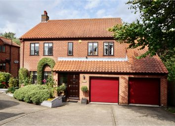 Thumbnail 4 bed detached house for sale in Gas Lane, Navenby