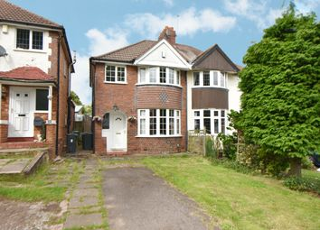 Thumbnail 3 bed semi-detached house for sale in Newborough Grove, Hall Green, Birmingham
