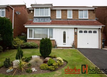 Thumbnail 3 bed detached house for sale in Whittingham Close, Ashington
