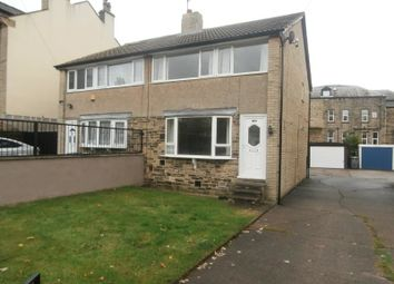 Thumbnail 3 bed semi-detached house to rent in Grasmere Road, Marsh, Huddersfield