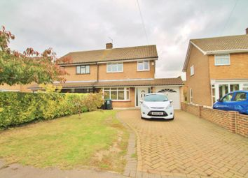 Thumbnail 4 bed semi-detached house for sale in Hill Close, Istead Rise, Gravesend