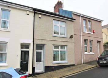 Thumbnail 2 bed terraced house for sale in Northumberland Street, Weston Mill, Plymouth, Devon