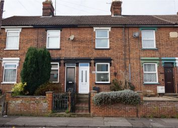 Thumbnail 3 bed terraced house for sale in Rectory Road, Ipswich