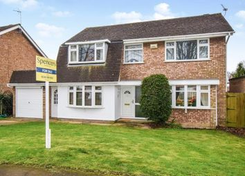 Thumbnail 4 bed detached house for sale in Tendring Drive, Wigston, Leicester, Leicestershire