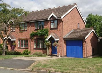 Thumbnail 3 bed semi-detached house for sale in 10, Orchard Drive, West Felton, Oswestry, Shropshire