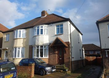 Thumbnail 3 bed semi-detached house to rent in Coronation Road, Aldershot