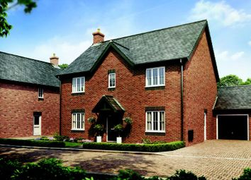 Thumbnail 4 bed detached house for sale in Plot 24 The Cottonwood, Barley Fields, Uttoxeter