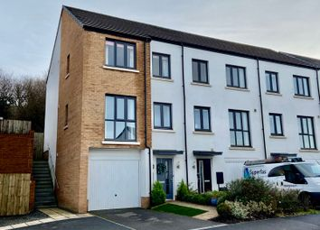 Thumbnail 3 bed town house for sale in Summering Close, Okehampton